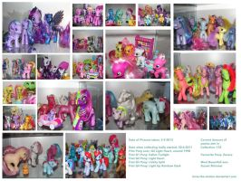 My My Litle Pony Collection by Ilona-the-Sinister