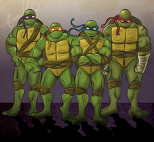 Teenage Mutant Ninja Turtles by smthcrim89