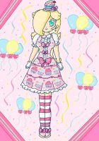 cupcake dress by ninpeachlover