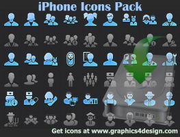 iPhone Icons Pack by shockvideoee