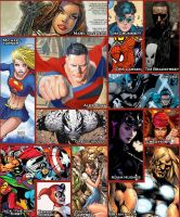 comic book inspiration by Lannytorres
