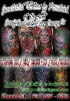 Guestspot at Goodfellas Orange by 2Face-Tattoo