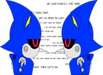 Metal Sonic's Scaffle with Metal Sonic by Sonicyay2