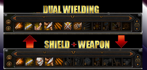 my melee attacking setup in Runescape Beta by ownerfate