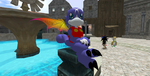 My Second Life avatar-Gumdramon by RadioSoulwave23