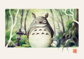 Totoro by Crabhearst