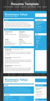 freebie: one page resume 2 by yahya12