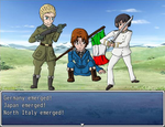 Hetalia RPG Battlers - Axis Powers by Comical-Carnival