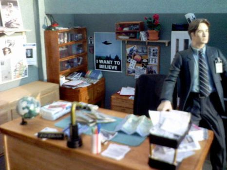 x-files office 19 by moviecard