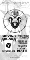 Driving Arcana - Rotation One extras by GoldeenHerself