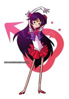 Sailor Mars by ebba