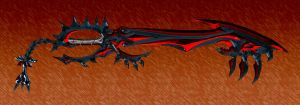 Prosaic Condemnation Keyblade by dyyor