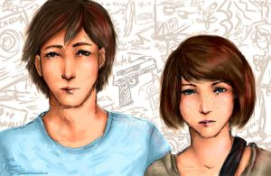 Life Is Strange: Face stain in the ceiling by LycusFenriz