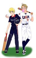 Baseball vs Cricket by ElectrikTrinity