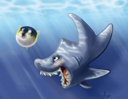shark week skribble by dollyolly1