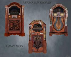 Retro Jukeboxes by HBKerr