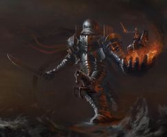 BloodSports 15: Guild of Golems, Golem-Knight by SSGlushakov