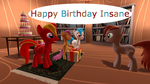 Happy Birthday Insane by mRcracer