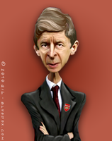 Arsene Wenger Caricature by m26gil
