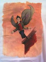 Peter Petrelli t-shirt-detail by nicneven