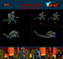 Old Vs New: Yugaina Gigan by GIGAN05