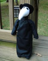 Plague Doctor plush doll by silentorchid