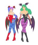 Morrigan and Lilith WIP by deli-Yu