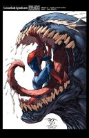 Spidey Venom Color by logicfun