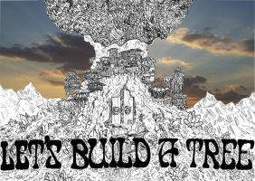 Let's Build A Tree - AlbumCover by Zegaroth