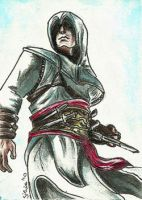 ACEO 5 - Altair by Clopina