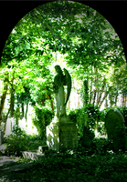 Highgate Angel Grave by Weasley-Detectives