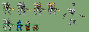 Promethean knight Halo sprite by yurestu