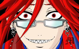 Grell Sutcliffe Coloring by M by MarioTheArtistM