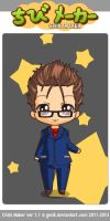 10th Doctor chibi by Mickxbeth2012