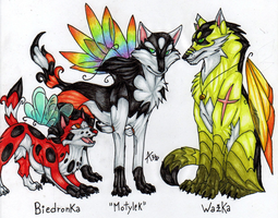 Motyl And Her Siblings by ARVEN92