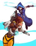 Tracer and Tripp by charlestanart
