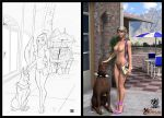 Pin Up Dog collab by Gary and Celaoxxx by celaoxxx