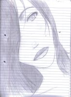 A big female face :p by SerenaLawless