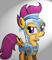 Jouster Scootaloo by scooterloo