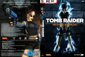 Tomb Raider: The Angel of D. - HQ Custom DVD Cover by Djblackpearl