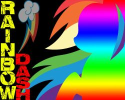 Another Rainbow Dash Wallpaper by Foxman691