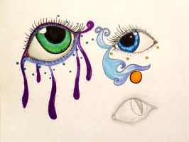 Eye Doodles Yeah by Cruel-Cartoonist