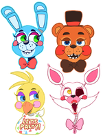 FNAF2 by DonitKitt