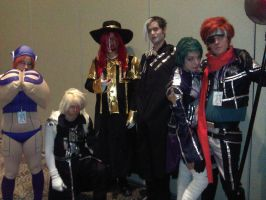 ColossalCon11 D. Gray-Man by MrsMcGinty