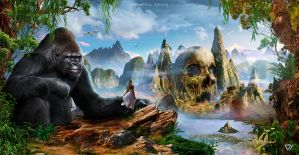 King Kong and I by Whendell