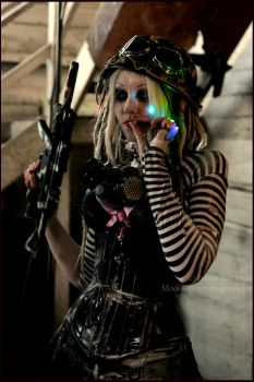 . tank girl b1atch . by Countess-Grotesque