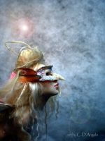 Touch of Magic fairy mask side by cdlitestudio