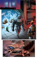 COLOR PORTFOLIO: TMNT pag2 of issue 7 by shiprock