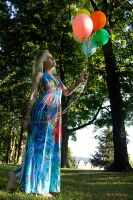 Balloon Girl Skelly by KenHarrisPhoto