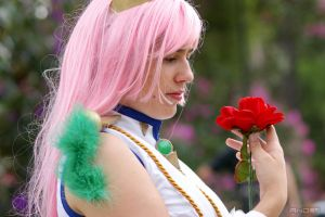 Holding a flower by andyamasaki